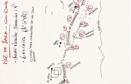 Vía del Diedro de Hoz de Jaca